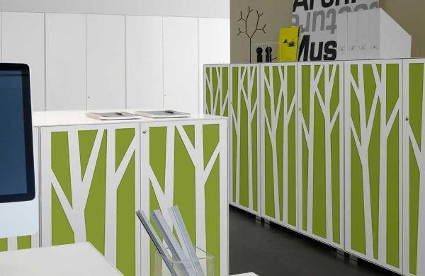Tessuto fonoassorbente per armadio da ufficio di Dieffebi