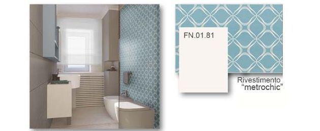 Scelta dei rivestimenti per il bagno - Blu Space