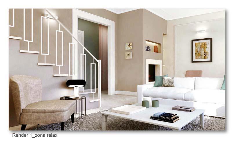 Illuminare il soggiorno - Blu Space
