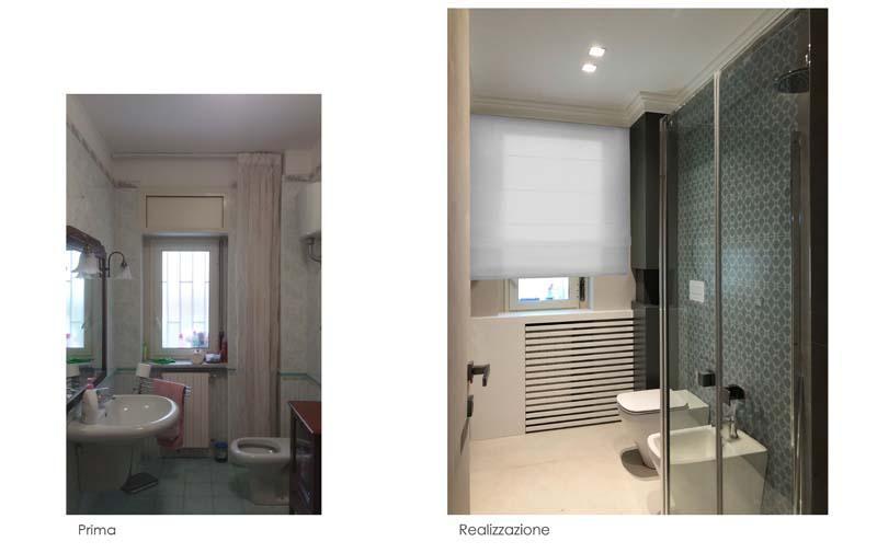 Ristrutturazione bagno: foto prima e dopo - Blu Space