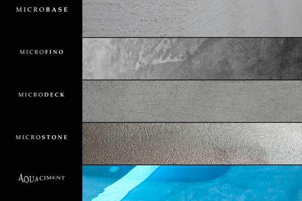 Cemento spatolato diverse tipologie - Topciment
