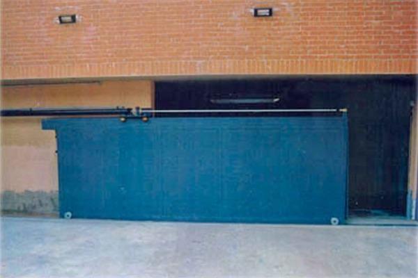 Cancello antiallagamento - Sigaserramenti