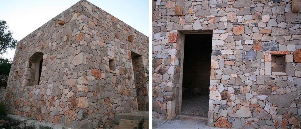 Pajara pugliese con muri a secco ristrutturata da Cacciatore Cosimo Group