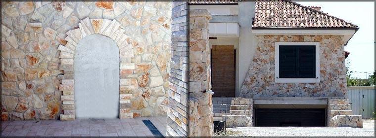 Rivestimenti in pietra da spacco ispirati ai muri a secco de La Pietra Taurina