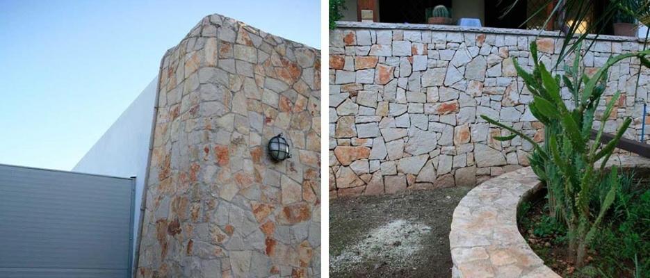Rivestimenti in pietra da spacco ispirati ai muri a secco, by Cacciatore Cosimo Group