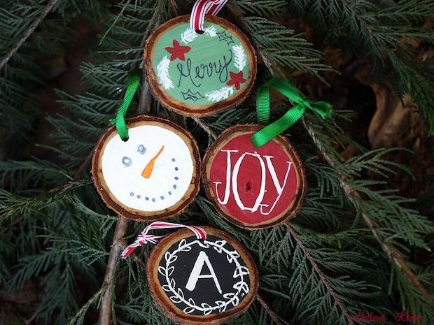Biscotti Finti Per Albero Di Natale.Decorazioni Fai Da Te Per L Albero Di Natale