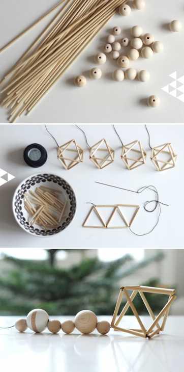 Come realizzare una ghirlanda natalizia fai da te, da pinjacolada.com