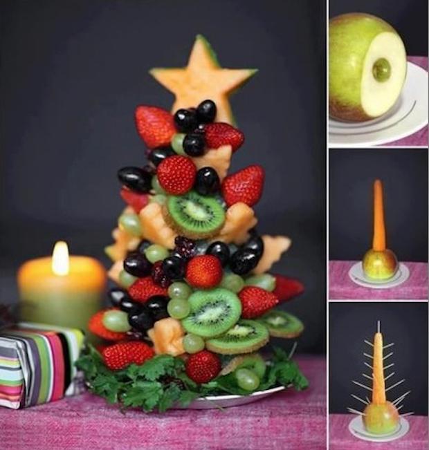 Albero di Natale di frutta fresca, da hmhome.ru