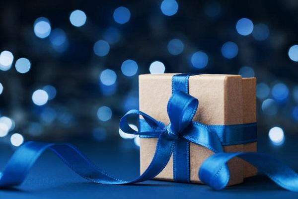Regali per Natale pacco