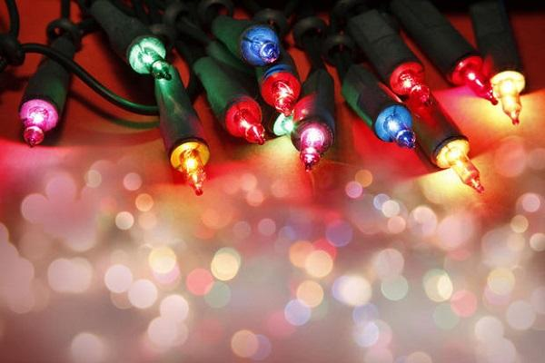 Luci natalizie per decorazione