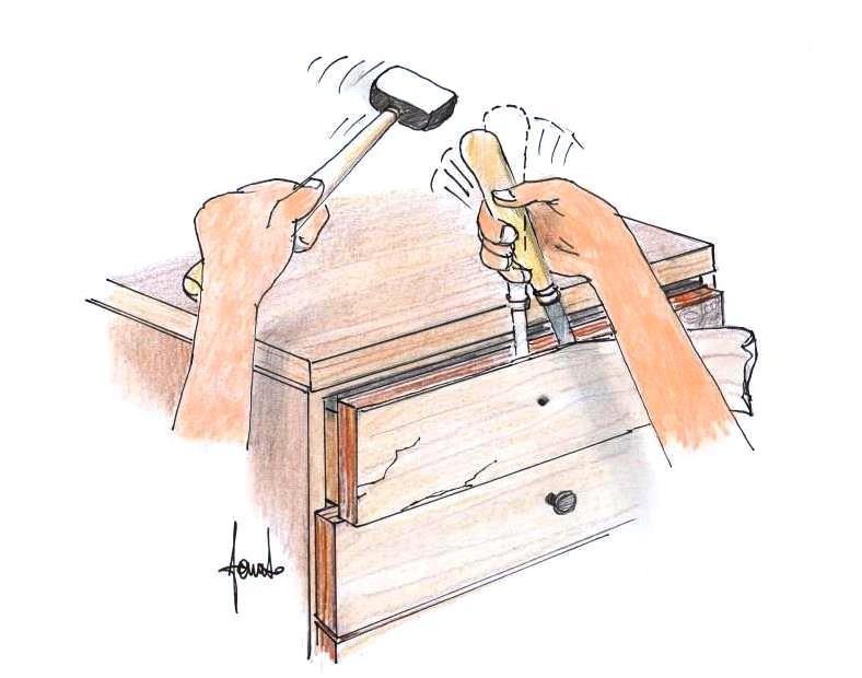 Restaurare e decorare un mobile in formica