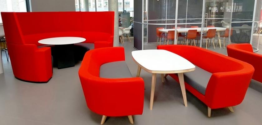 Mobili per Bournmouth University Formica® Group Laminate