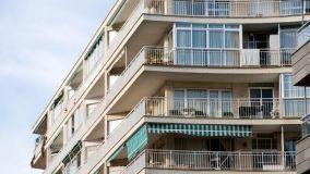 Problemi di installazione delle tende da sole in edifici con balcone aggettante