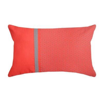Pantone colori 2019: Living Coral cuscino di Eminza
