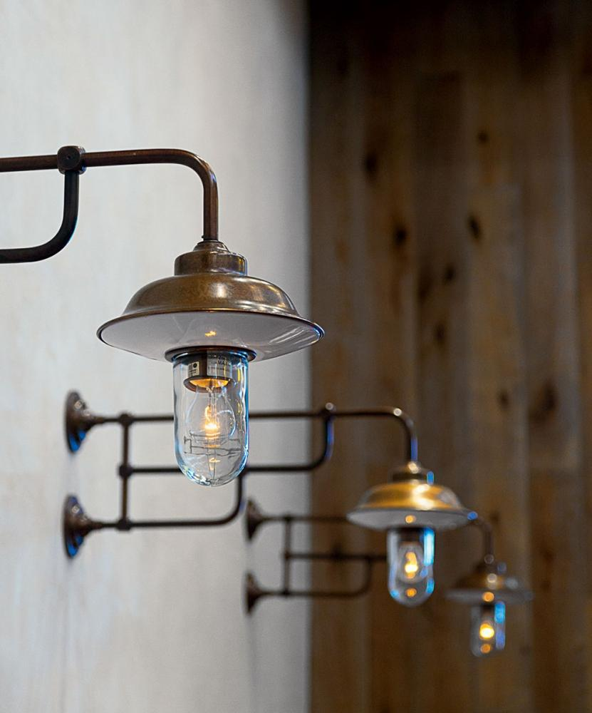 Corpi illuminanti in stile industriale Fiati di Aldo Bernardi