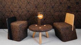 Il sughero in casa: dai pannelli isolanti agli elementi d'arredo