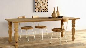 Complementi di arredo in legno grezzo: portare la natura in casa