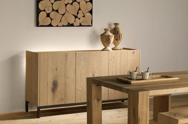 Madia in legno grezzo, da Essence Wood