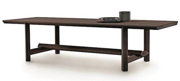 Tavolo in legno di frassino, da Mood by Flexform