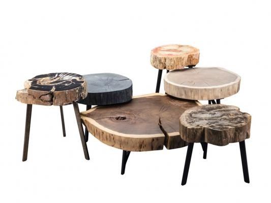 Tavolini da caffè ricavati da tronchi d'albero, da Janua