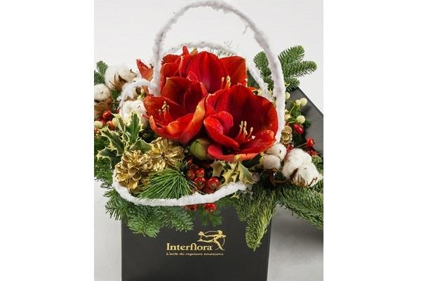 Composizione natalizia Interflora