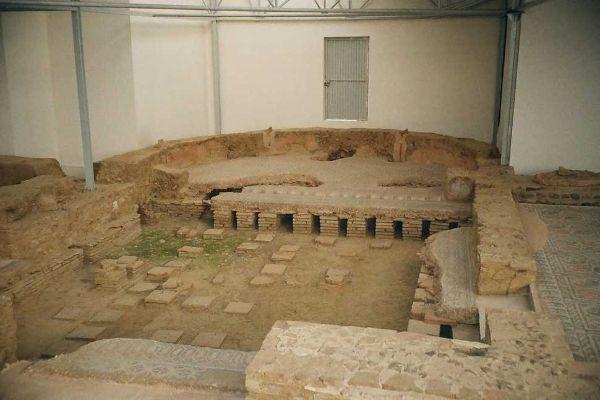Hypocastrum in una Villa romana a Saldaña,