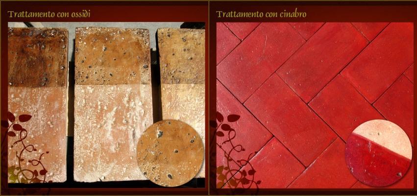 Piastrelle di cotto toscano con trattamenti speciali, by Cotto Pievese