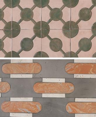 Rivestimenti contemporanei in cotto della collezione Giardino all'italiana by Fornace Brioni