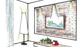 Rivestire le pareti interne con mattoni: soluzioni fai da te