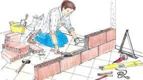 Realizzare un muro divisorio interno