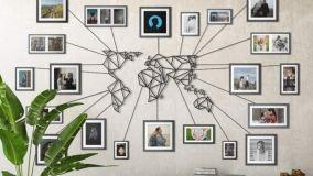 Per chi ama viaggiare, idee per decorare casa col planisfero