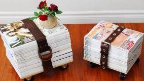 Idee per casa: riciclo creativo di vecchie cinture in pelle