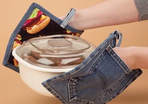 Presine da forno con vecchi jeans, da nancyzieman.com