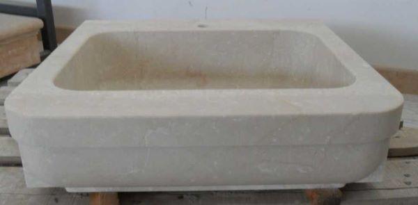 Lavello per cucina in pietra di Marmi Piccolo