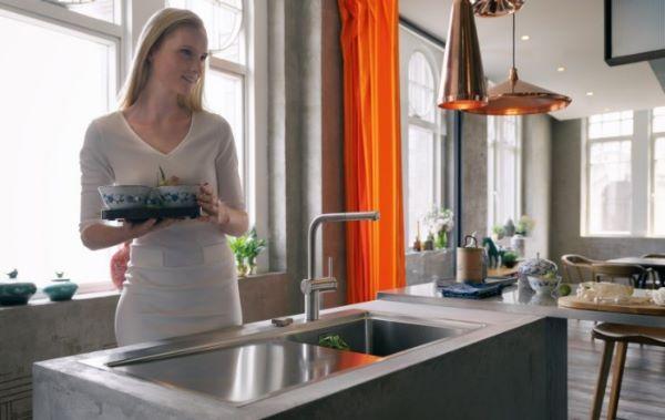 Lavello acciaio Franke per cucina
