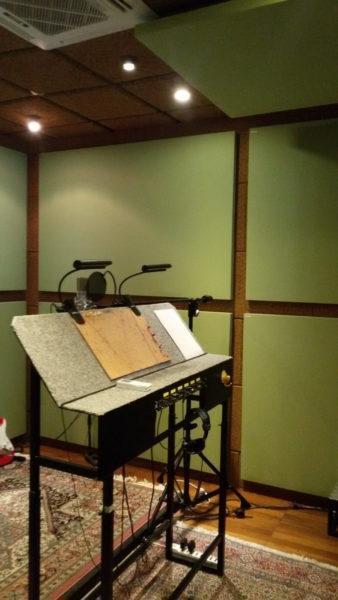 Pannelli fonoassorbenti studio di registrazione - Sonoryze - Oudimmo