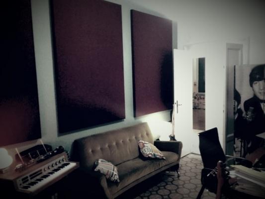 Oudimmo- Sonoryze installazione pannelli in uno studio privato
