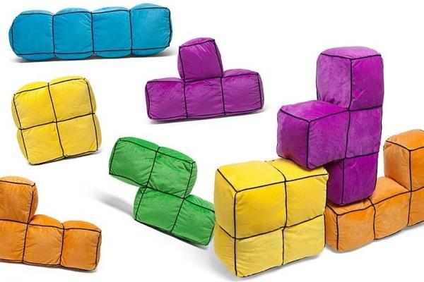 Cuscini Tetris