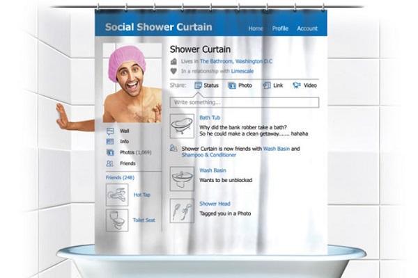 Tenda doccia pagina Facebook