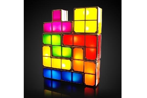 Arredamento Geek Lampada Tetris