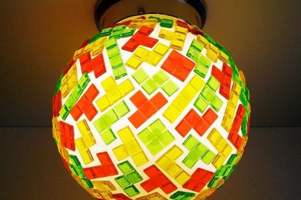 Arredamento Geek Lampadario Tetris