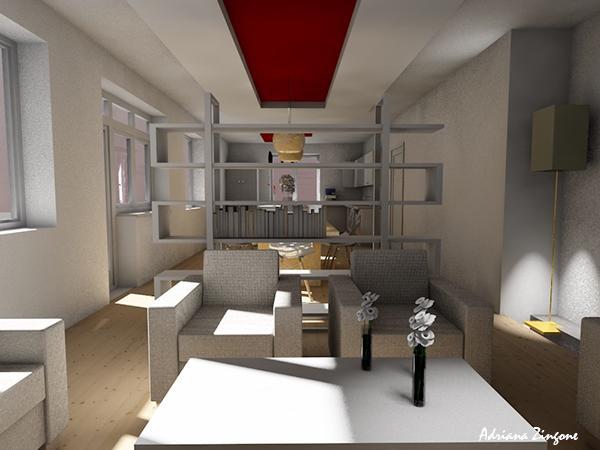 Idee ristrutturazione casa cucina salone separe?