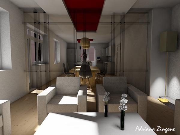 Idee ristrutturazione casa divisorio vetro