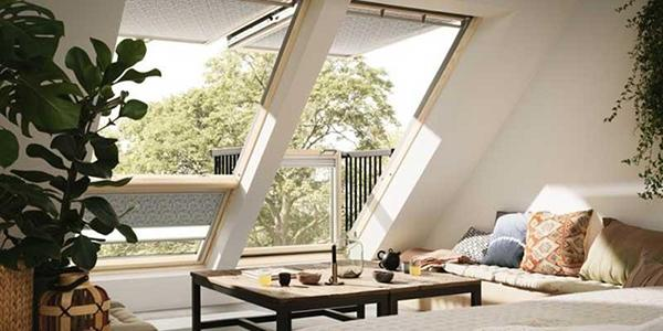 Ristrutturazione finestre per mansarde by Velux italia