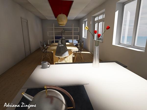 Ristrutturare casa idea progettuale