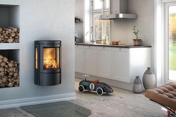 Stufa a legna Hwam 2610 di Scandinavia Design
