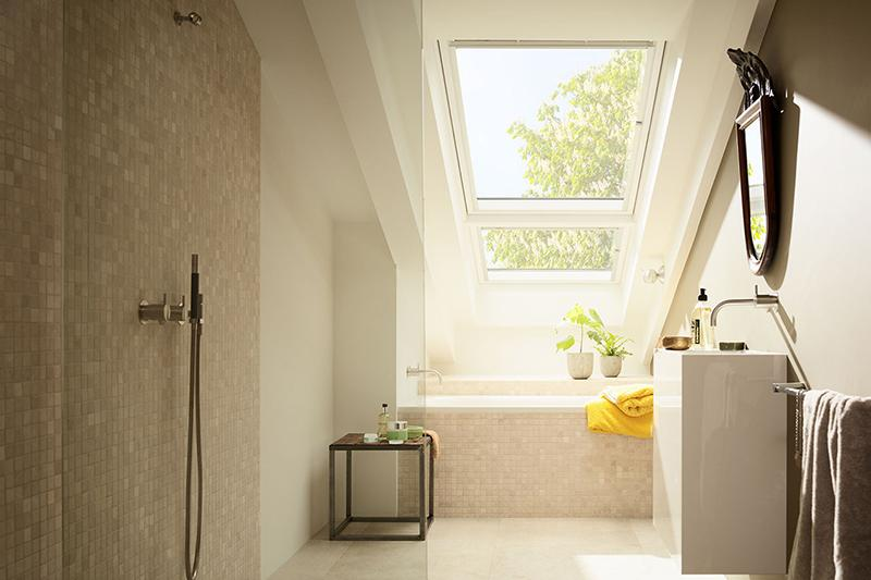 Ambiente bagno finestra Velux