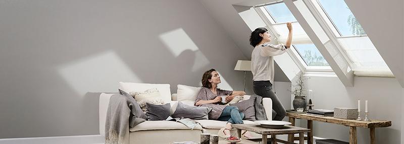 Finestra per tetti Velux living