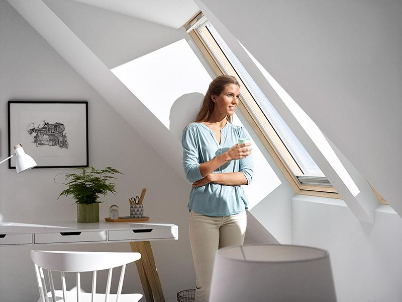 Luce naturale velux finestra