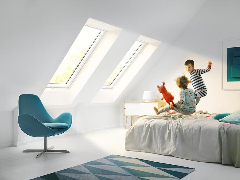 Cameretta bimbo finestra per tetti velux
